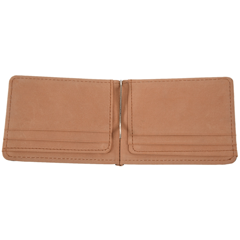 Faux-Leather-Slim-Mens-Credit-Card-Wallet-Money-Clip-Contract-Color-Simple-O8B8 thumbnail 14