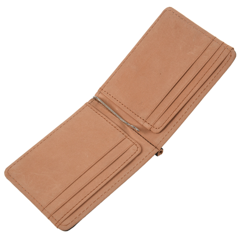 Faux-Leather-Slim-Mens-Credit-Card-Wallet-Money-Clip-Contract-Color-Simple-O8B8 thumbnail 15