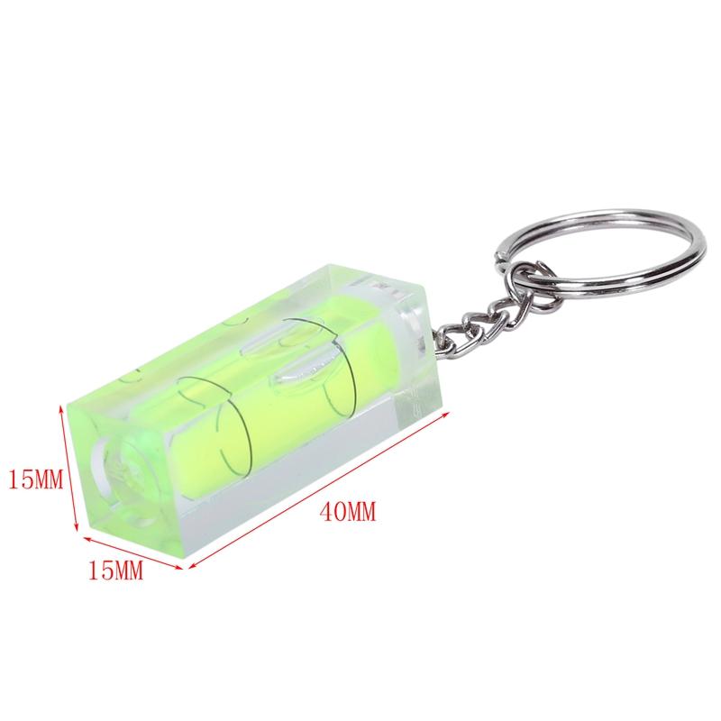 Mini-Spirit-Level-DIY-Gadgets-Keyring-Keychain-Tool-keychain-spirit-level-co-2H2 thumbnail 4