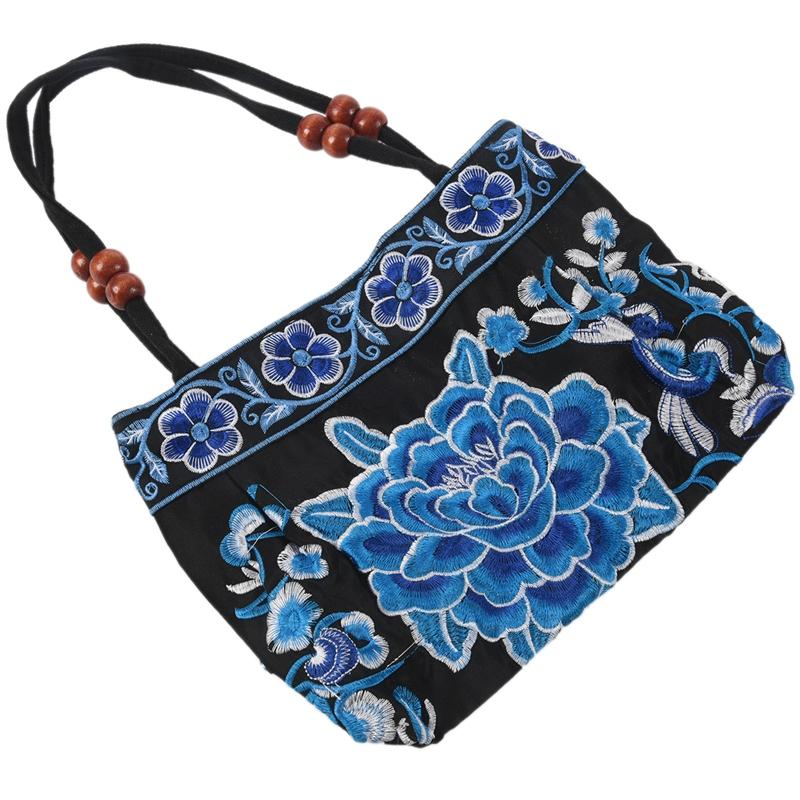 Chinese-Style-Women-Handbag-Embroidery-Ethnic-Summer-Fashion-Handmade-Flowers-TO thumbnail 20