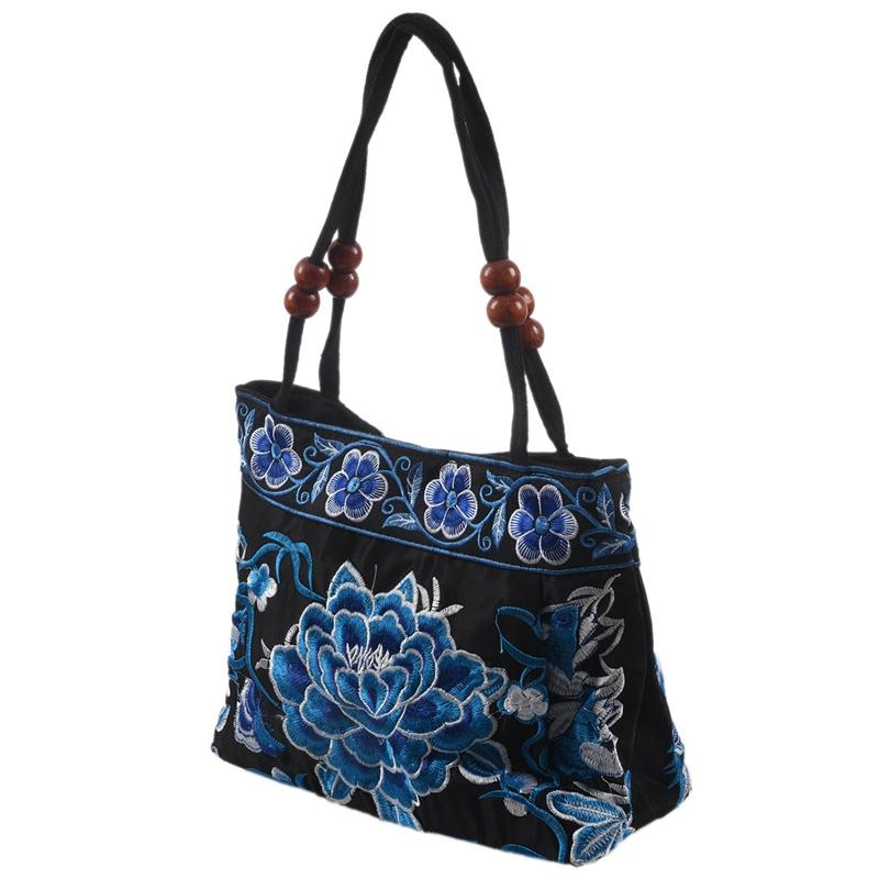 Chinese-Style-Women-Handbag-Embroidery-Ethnic-Summer-Fashion-Handmade-Flowers-TO thumbnail 22
