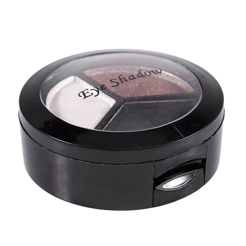 miniatuur 19 - Professional Smoky Cosmetic Set 3 Colors Natural Matte Eyeshadow Makeup Too J5E7
