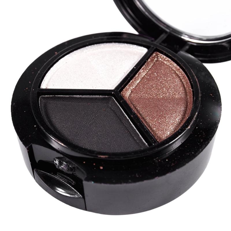 miniatuur 20 - Professional Smoky Cosmetic Set 3 Colors Natural Matte Eyeshadow Makeup Too J5E7
