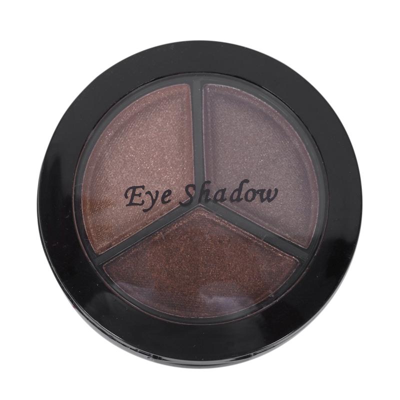 miniatuur 25 - Professional Smoky Cosmetic Set 3 Colors Natural Matte Eyeshadow Makeup Too J5E7