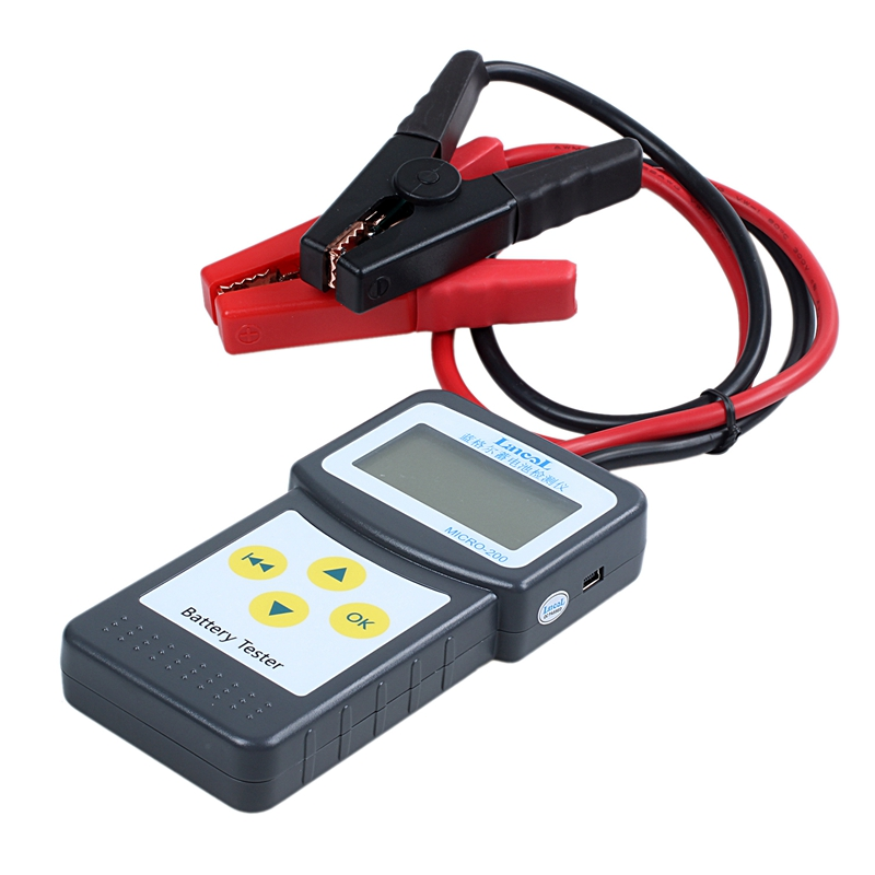 SODIAL Automotive Battery Tester 12V Battery and Alternator Analyzer Micro-200
