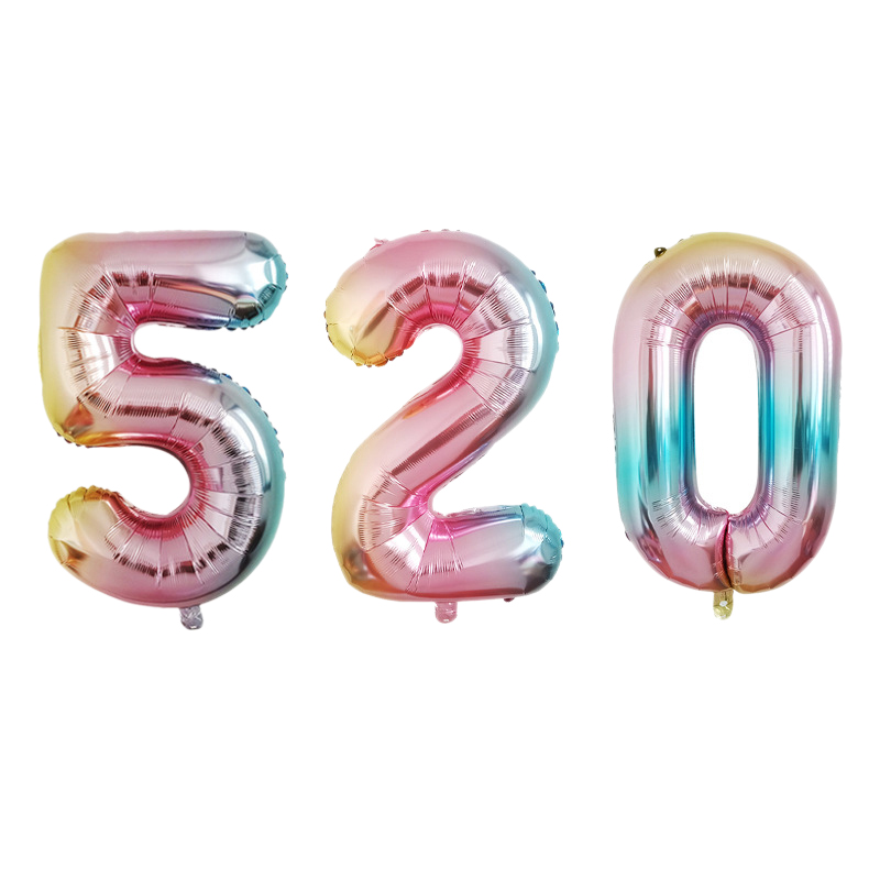thumbnail 22 - 32Inch-Number-Foil-Balloon-Digital-Balloon-Birtay-Party-Decoration-Baby-S-F5K7