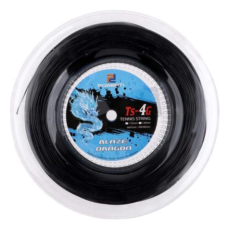 Corda-per-Racchetta-Da-Allenamento-Powerti-Tennis-String-4G-nel-Poliestere-T2V6 miniatura 2
