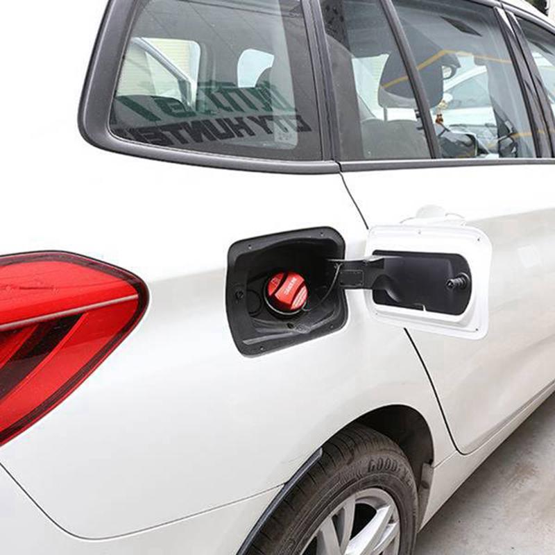 Fanuse La Guarnizione del Tappo del Serbatoio del Carburante nel Lega di Alluminio per Auto /è Adatta per Discovery Sports Lr4 5 Range Rover Sport Greggio Rosso