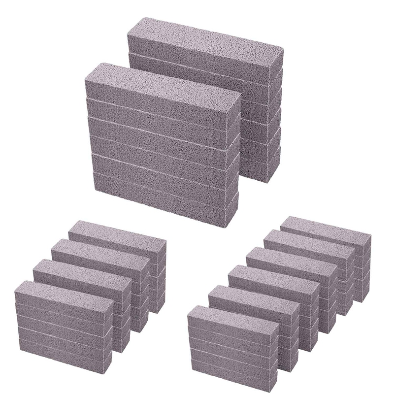 Pierre-Ponce-pour-le-Nettoyage-Pumeau-Tampon-a-ReCurer-Gris-Ponce-Stick-A9E7 miniature 9
