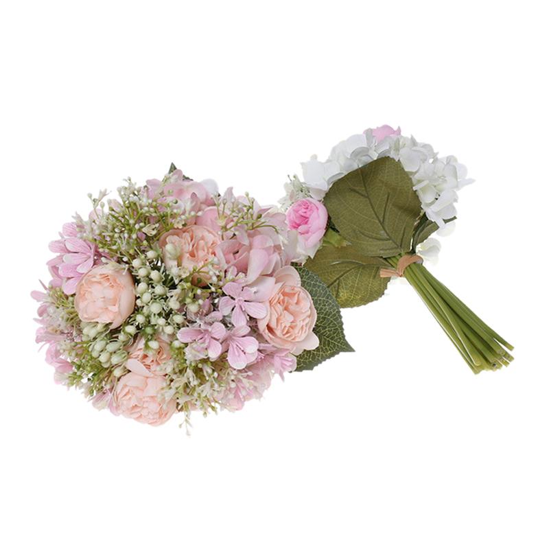 Simulation-MarieE-Tenant-des-Fleurs-CreAtives-en-Plastique-Bouquet-de-Demoi-T6P4 miniature 4