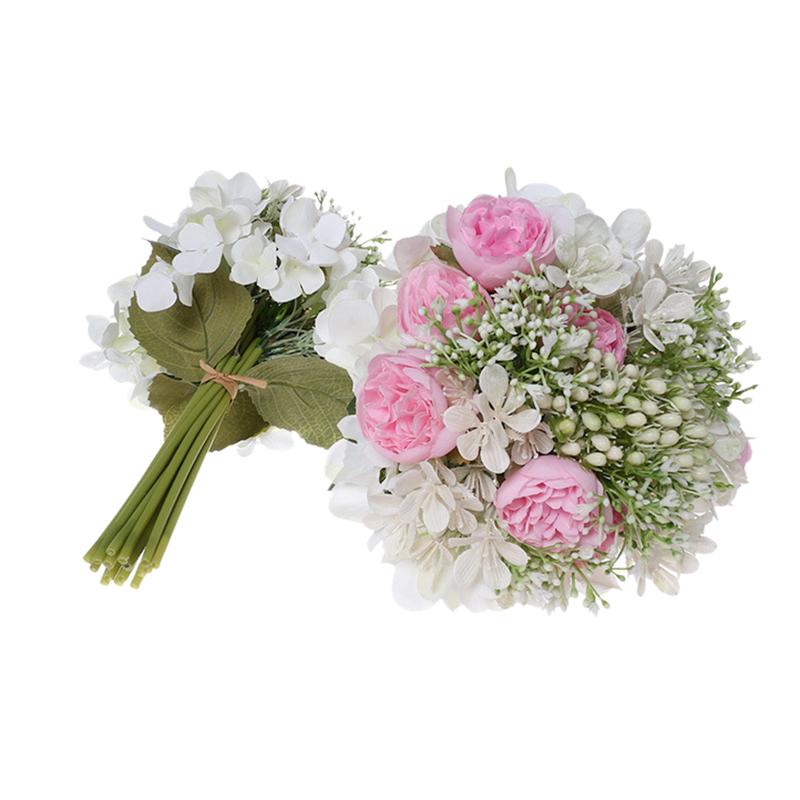 Simulation-MarieE-Tenant-des-Fleurs-CreAtives-en-Plastique-Bouquet-de-Demoi-T6P4 miniature 6