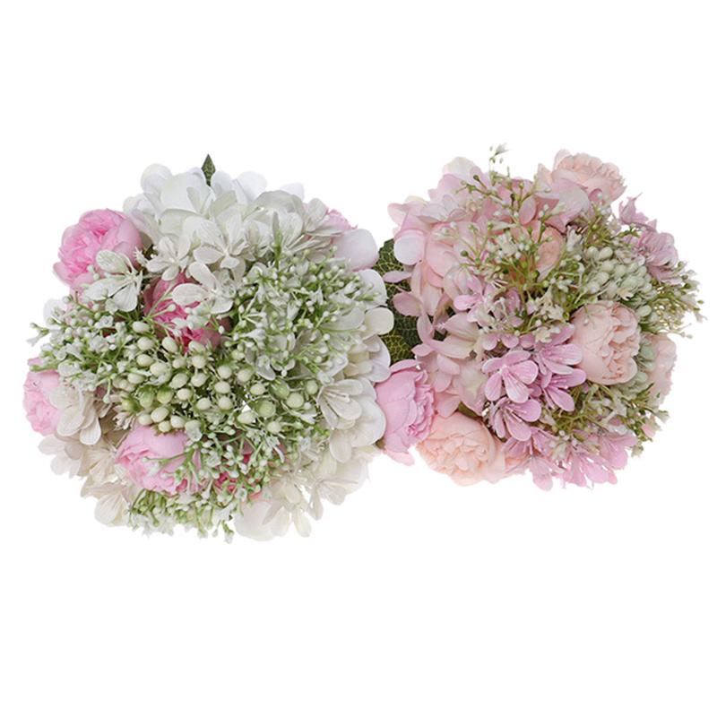 Simulation-MarieE-Tenant-des-Fleurs-CreAtives-en-Plastique-Bouquet-de-Demoi-T6P4 miniature 7