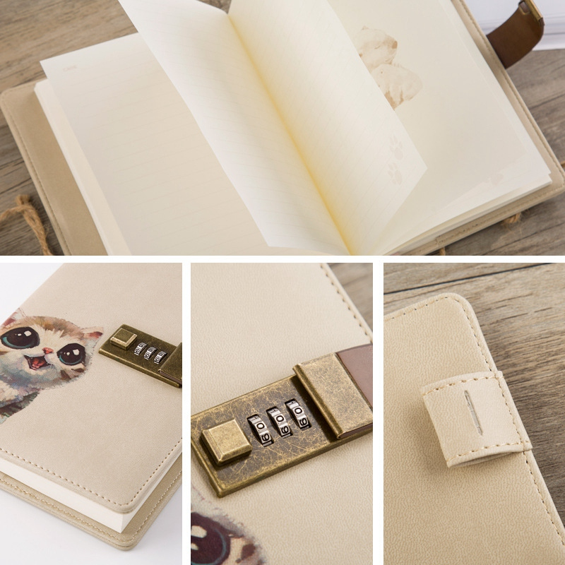 B6-Cuaderno-Lindo-Bloc-de-Notas-Diario-Secreto-Memos-Planificador-Agenda-Cuadern miniatura 8