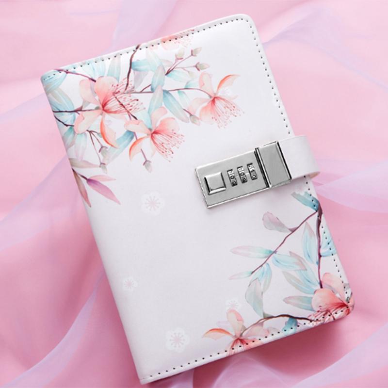Bloc-de-Notas-Sub-Cuaderno-Diario-con-Bloqueo-Libro-de-Mano-Bloqueo-de-Contrasen miniatura 3