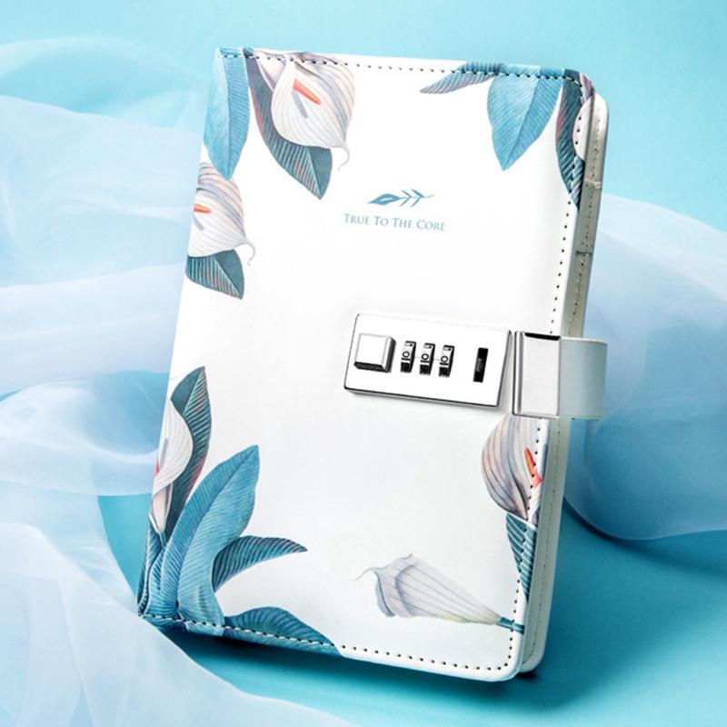 Bloc-de-Notas-Sub-Cuaderno-Diario-con-Bloqueo-Libro-de-Mano-Bloqueo-de-Contrasen miniatura 14