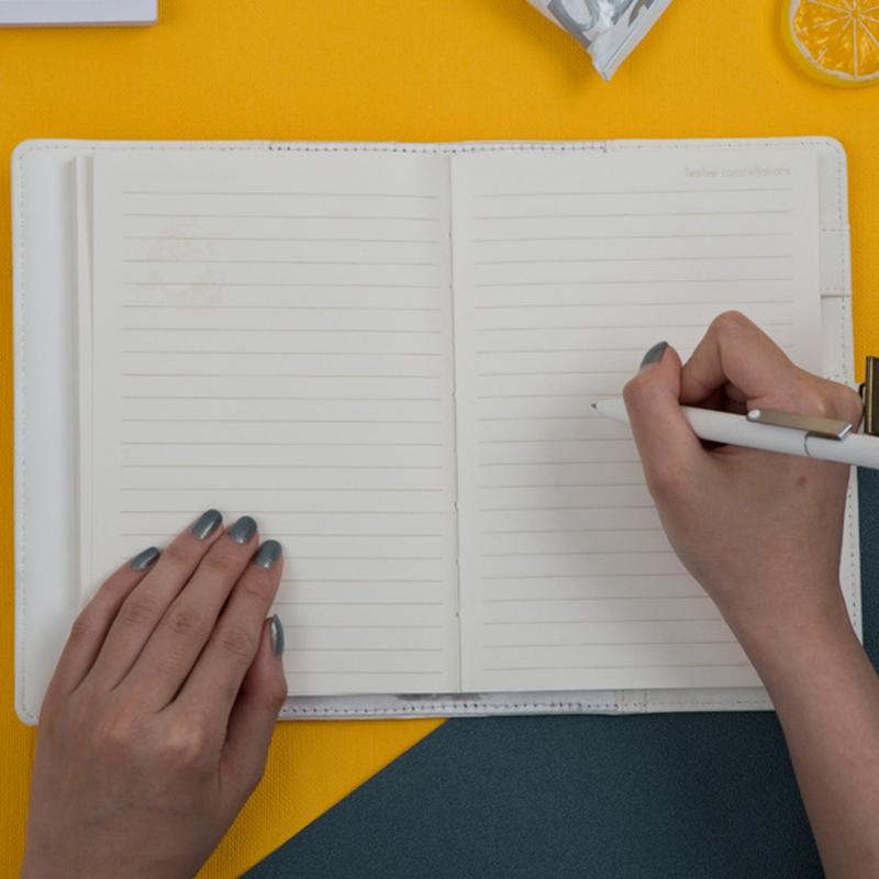 Retro-Vintage-Notebook-Contrasena-Planificador-de-Libros-Office-Lady-ProteccioN miniatura 11