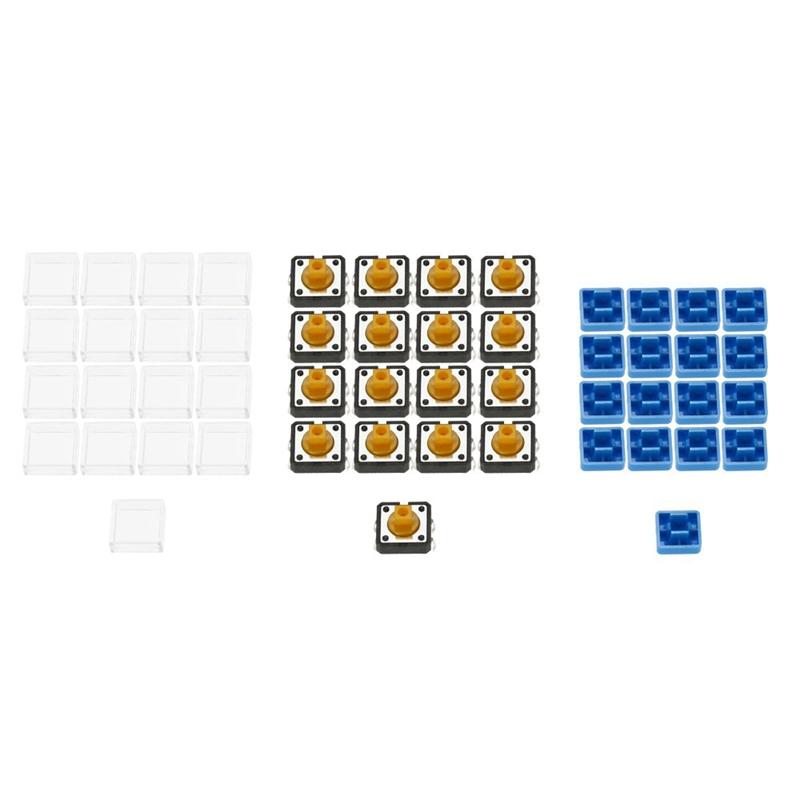 2X-Diy-Calculator-Kit-Digital-Tube-Calculator-with-Transparent-Case-Built-iW3N4 thumbnail 3