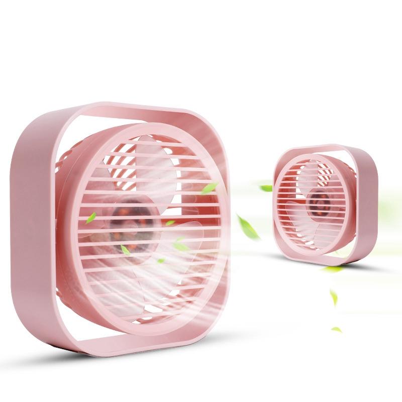 Mini-Usb-Desktop-Fan-Personal-Cooling-Fan-w-360-Rotation-Adjustable-Angle-K6R2 thumbnail 2