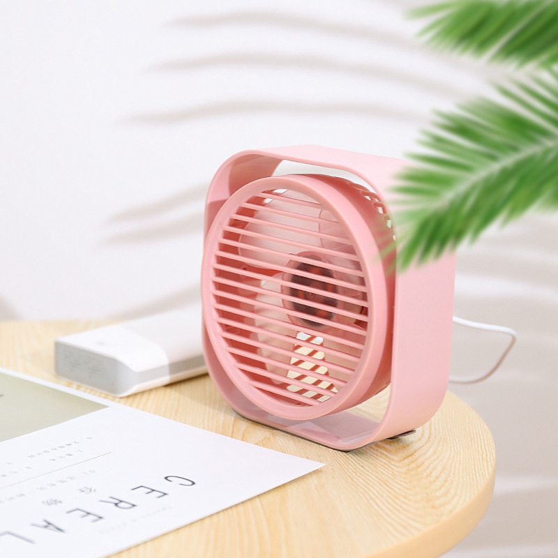 Mini-Usb-Desktop-Fan-Personal-Cooling-Fan-w-360-Rotation-Adjustable-Angle-K6R2 thumbnail 3