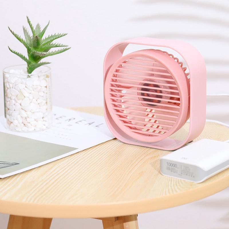 Mini-Usb-Desktop-Fan-Personal-Cooling-Fan-w-360-Rotation-Adjustable-Angle-K6R2 thumbnail 4