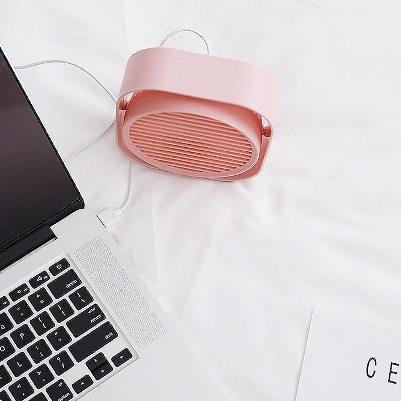 Mini-Usb-Desktop-Fan-Personal-Cooling-Fan-w-360-Rotation-Adjustable-Angle-K6R2 thumbnail 5