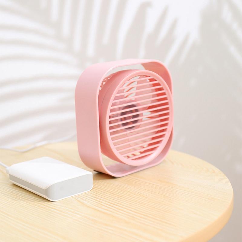 Mini-Usb-Desktop-Fan-Personal-Cooling-Fan-w-360-Rotation-Adjustable-Angle-K6R2 thumbnail 6