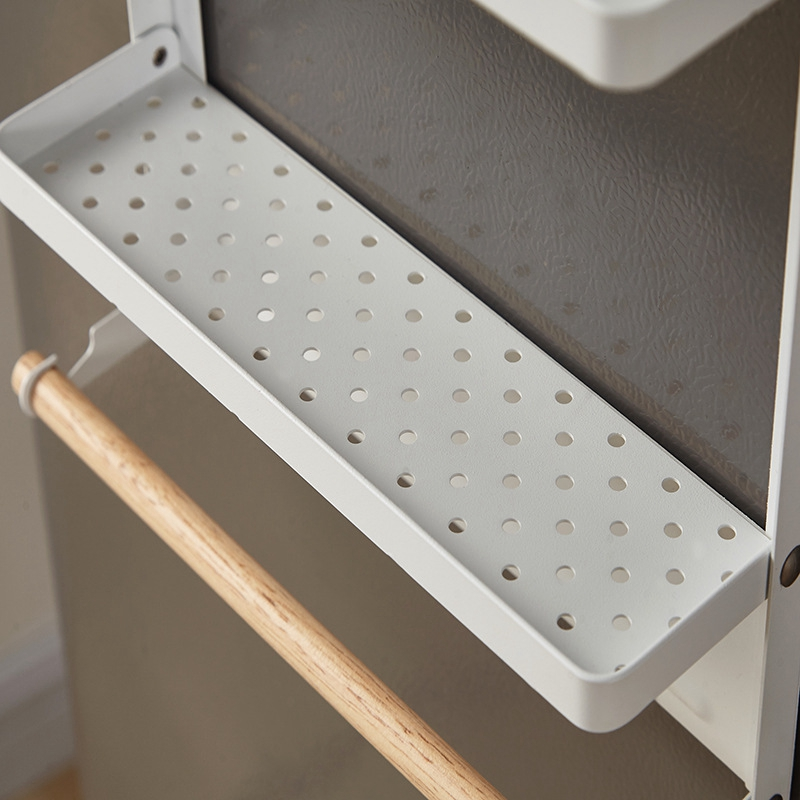 Spice-Storage-Organizer-Rack-for-Kitchen-Shelf-Magnetic-Refrigerator-Wall-M-C7Z2 thumbnail 3