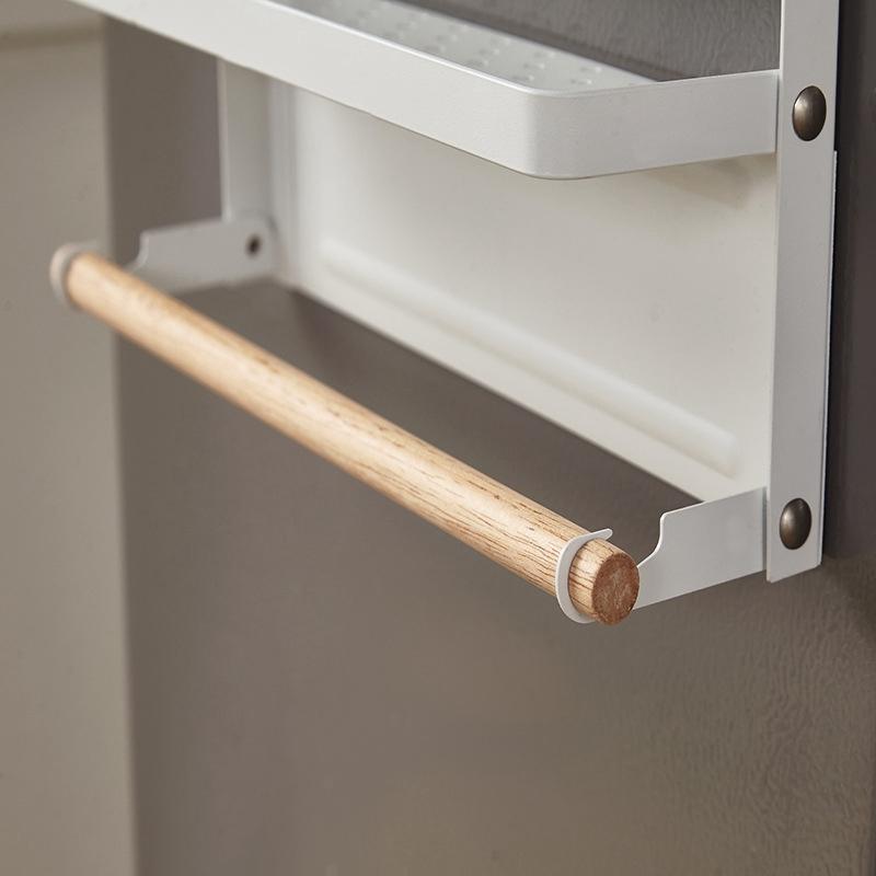 Spice-Storage-Organizer-Rack-for-Kitchen-Shelf-Magnetic-Refrigerator-Wall-M-C7Z2 thumbnail 7