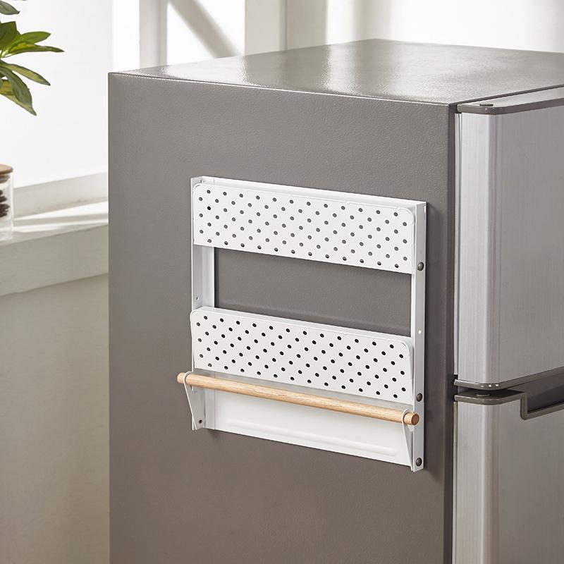 Spice-Storage-Organizer-Rack-for-Kitchen-Shelf-Magnetic-Refrigerator-Wall-M-C7Z2 thumbnail 12