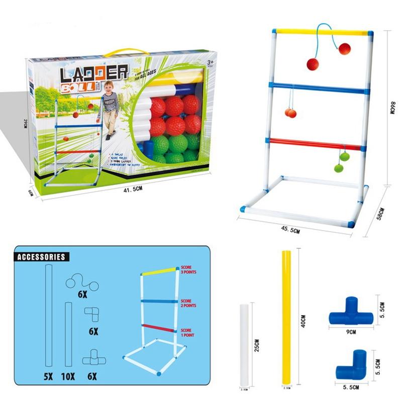 2X-Golf-Werfen-Ball-Leiter-Ball-Spiel-AussEn-LaeSsig-Spiel-Set-N3N7 Indexbild 2