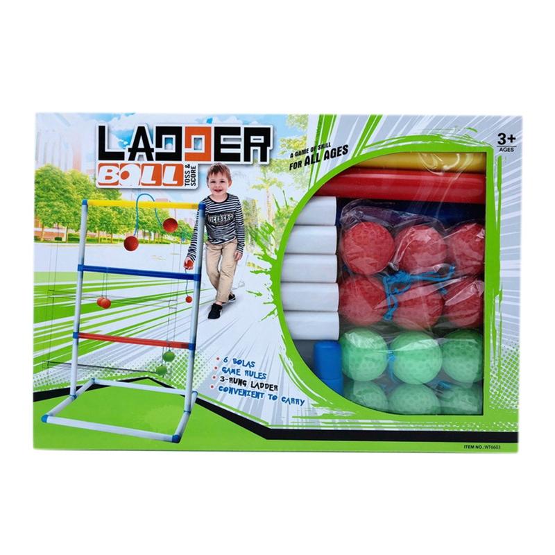 2X-Golf-Werfen-Ball-Leiter-Ball-Spiel-AussEn-LaeSsig-Spiel-Set-N3N7