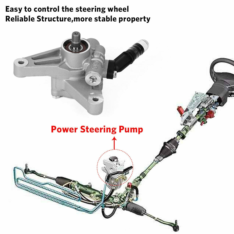 Power Steering Pump For 2005-2010 Honda Odyssey 2003-2013