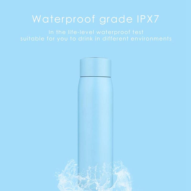 2X-Taza-de-Botella-de-Agua-Inteligente-Botella-de-Agua-de-Acero-Inoxidable-A4I7 miniatura 3