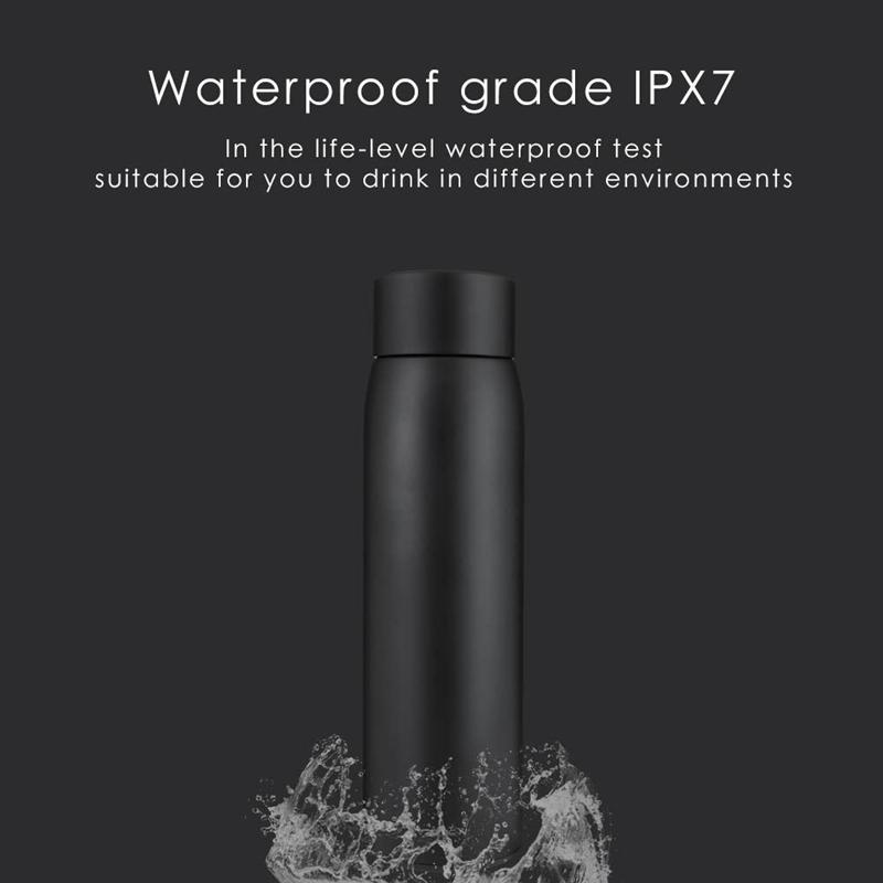 2X-Taza-de-Botella-de-Agua-Inteligente-Botella-de-Agua-de-Acero-Inoxidable-A4I7 miniatura 15
