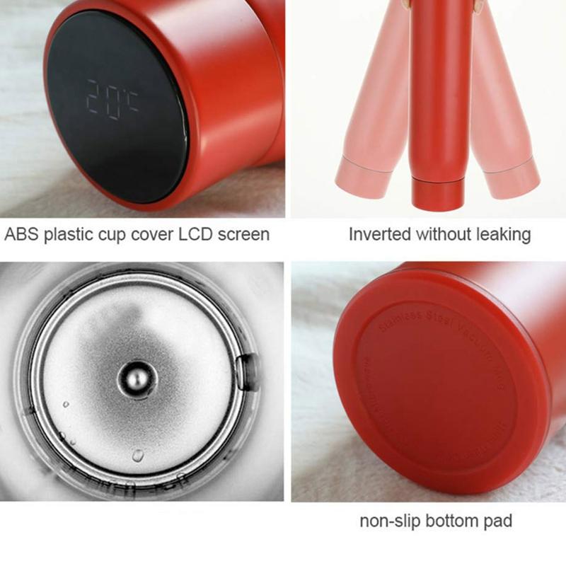 Bouteille-D-039-Eau-Smart-Cup-Vide-Bouteille-Isotherme-a-Double-Paroi-en-S7V9 miniature 24