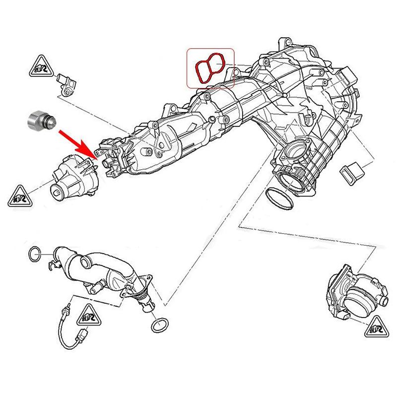 Wirbel Klappen Stopfen LöSch SäTze mit Dichtungen für Bmw N57 N57S E90 E91  X4F8 5