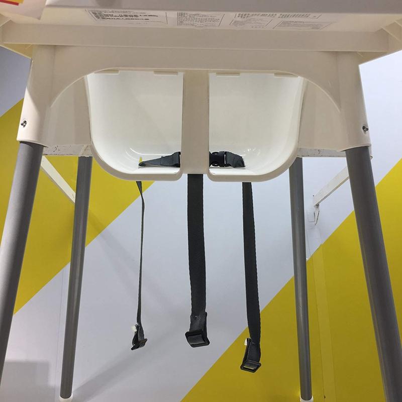 2X Baby Sicherheits Gurt, 3 Punkt Sitz Gurt für Kinder Hoch Stuhl Kinder Sit d3q