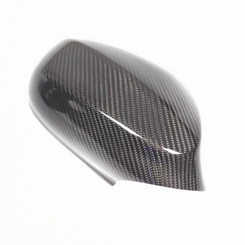 2Pcs-Car-Carbon-Fiber-Side-Door-Mirror-Cover-Trim-for-Bmw-E92-E93-Lci-330I-Q7X3 thumbnail 3