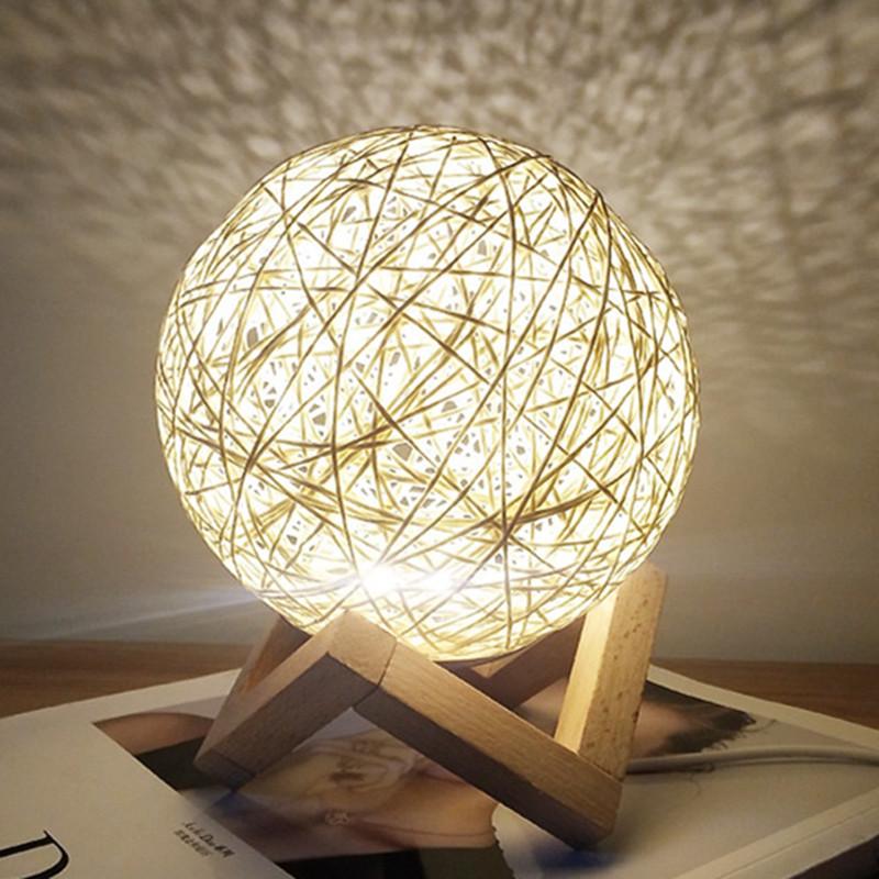Kids-Night-Lights-Original-Moon-Lamp-ChildrenS-Light-Starry-Sky-3D-Enchanti-G2N9