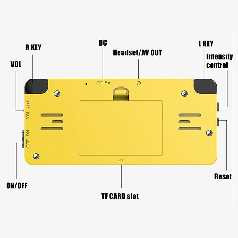 Ldk-Game-Diy-2-6-Pouce-ECran-Mini-Console-de-Jeu-de-Poche-Enfants-Nostalgiq-C5N3 miniature 6
