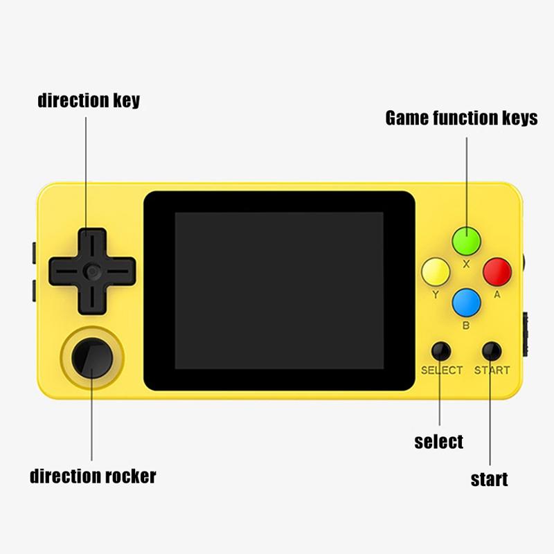 Ldk-Game-Diy-2-6-Pouce-ECran-Mini-Console-de-Jeu-de-Poche-Enfants-Nostalgiq-C5N3 miniature 19