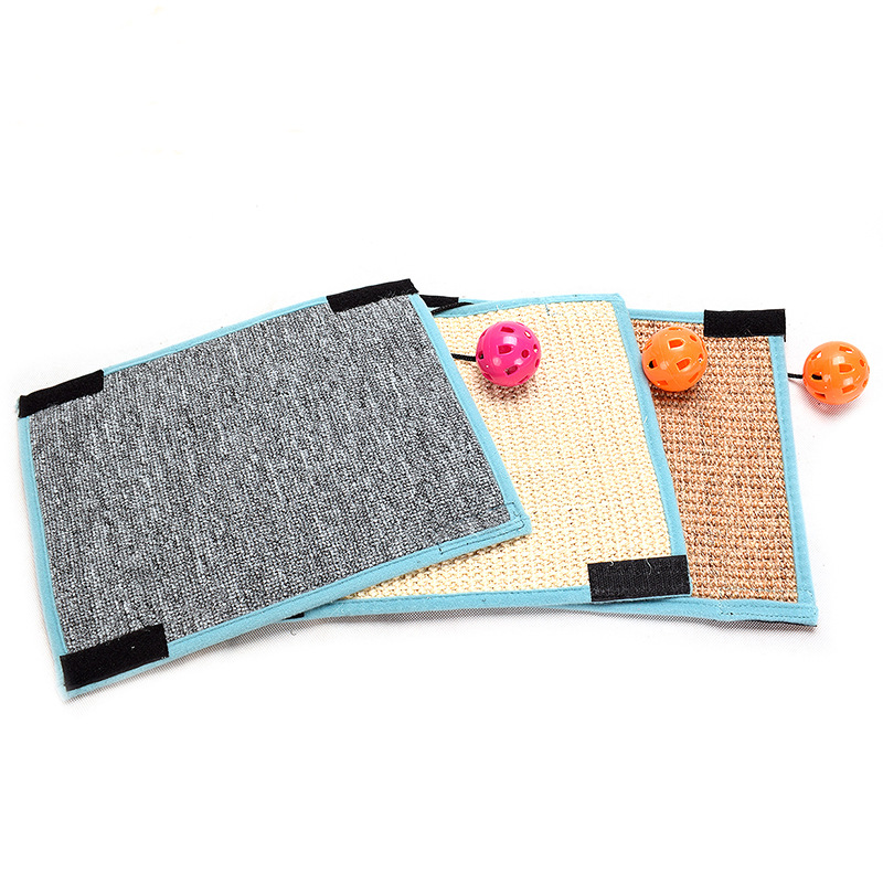 Cat-Scratch-Board-Table-Mat-Furniture-Protector-Kitten-Toy-Grinding-Pet-Sup-K6X2 thumbnail 3