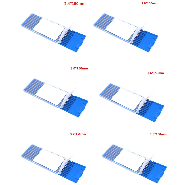 10-Stuecke-Wy20-Wolframelektrode-Professionelle-Wig-Stange-fuer-Option-2-0-L-T8H2 Indexbild 8