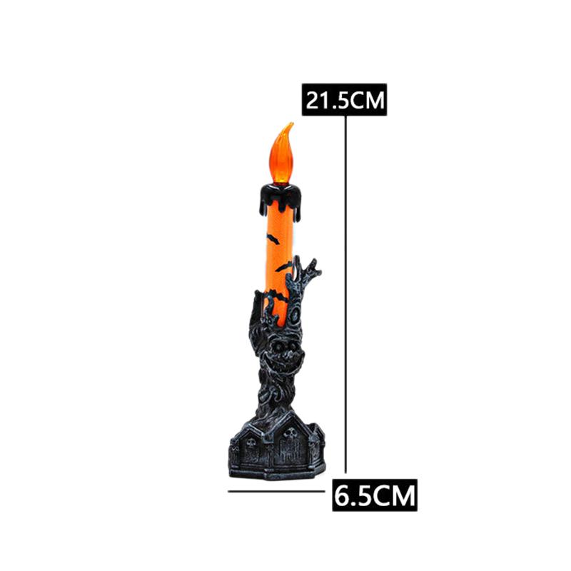 Halloween-Crane-Squelette-Main-Stand-Led-Bougie-LumieRe-DeCorations-deQ4V3 miniature 7