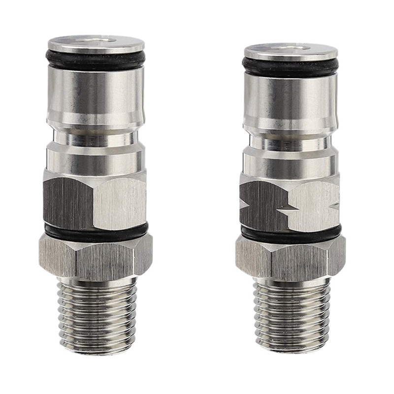 1-4-Inch-Male-Npt-Hex-Nipple-Gas-Ball-Lock-Post-with-Poppers-Ball-Lock-Adap-X4D4 thumbnail 7