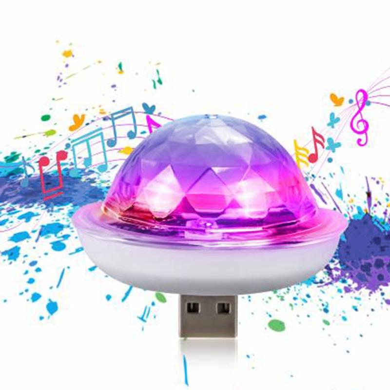 Capteur-de-Musique-Usb-Mini-Disco-SceNe-Effet-LumieRe-LumieRe-DJ-D8F5 miniature 4