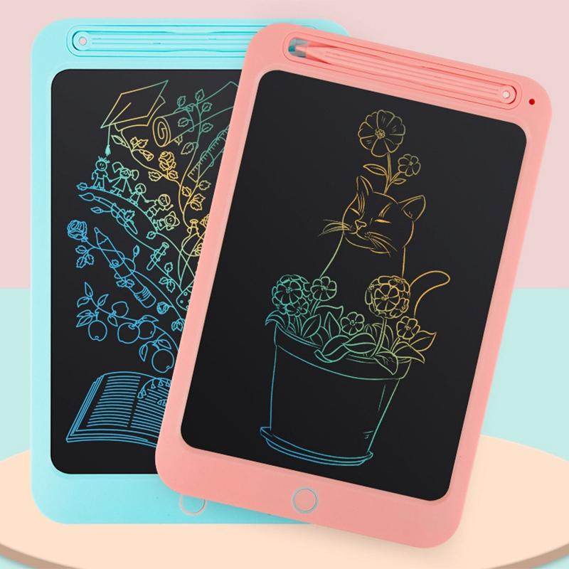 Tableta-LCD-de-Color-de-10-Pulgadas-Tableta-de-Dibujo-Digital-Tablero-Pintado-un miniatura 4
