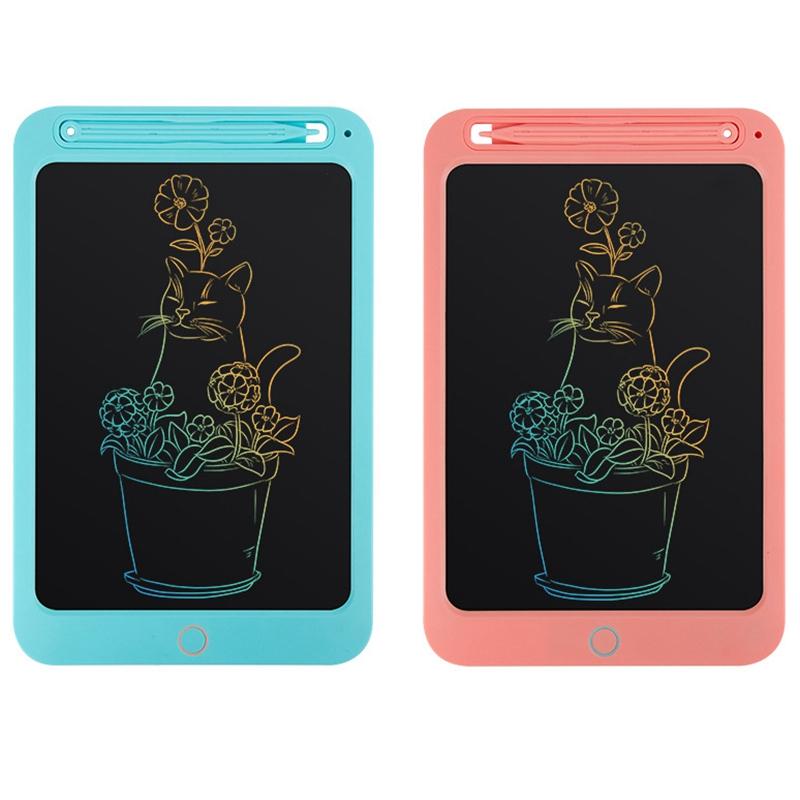 Tableta-LCD-de-Color-de-10-Pulgadas-Tableta-de-Dibujo-Digital-Tablero-Pintado-un miniatura 10