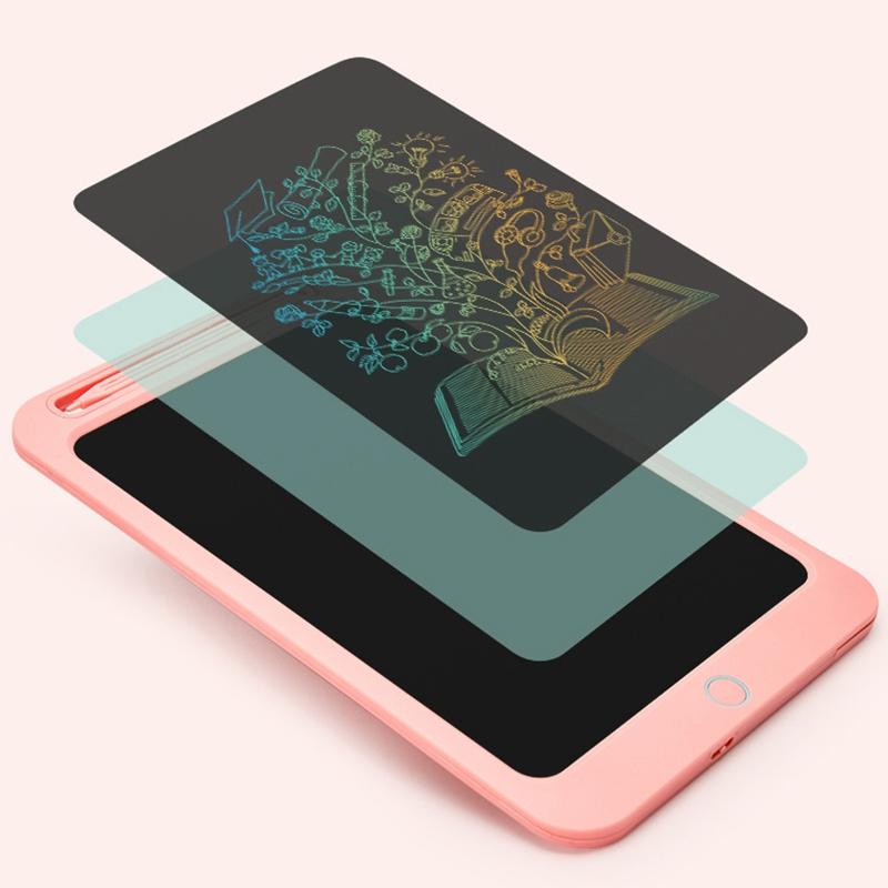 Tableta-LCD-de-Color-de-10-Pulgadas-Tableta-de-Dibujo-Digital-Tablero-Pintado-un miniatura 14