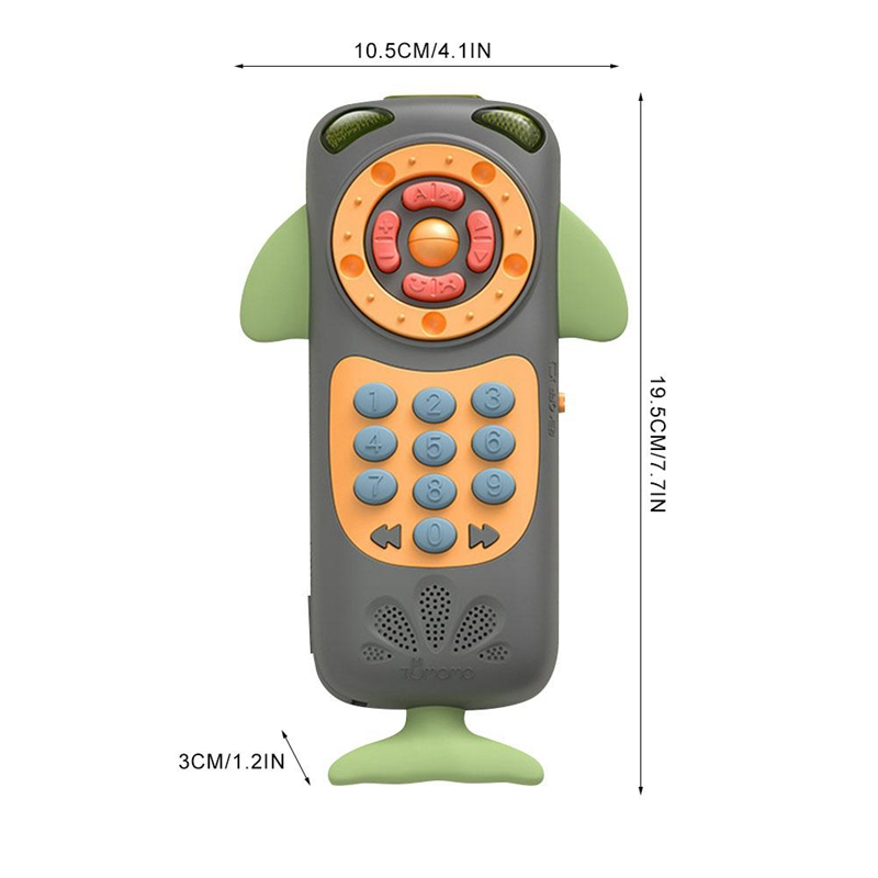 Tumama-Baby-Toy-Mobile-Phone-Baby-Multi-Function-Remote-Control-Puzzle-Earl-N6U1 thumbnail 2